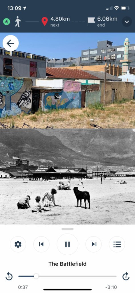 A location image with two photos, expanded view